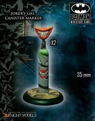 Jokers Gas Canister Marker - Batman Miniature Game