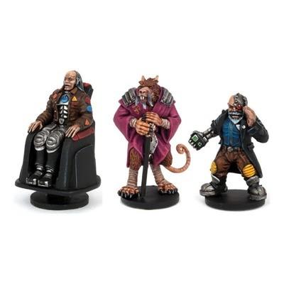 Dreadball Coaches (3 Figuren)