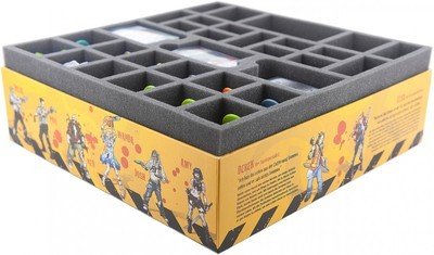 Schaumstoffeinlage Set für Zombicide Toxic City Mall Box - Feldherr