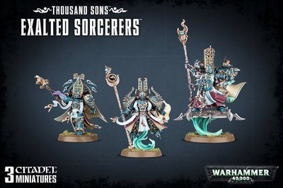 THOUSAND SONS EXALTED SORCERERS - Warhammer 40.000 - Games Workshop
