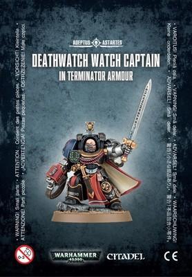 DEATHWATCH WATCH CAPT./TERMINATOR ARMOUR - Warhammer 40.000 - Games Workshop