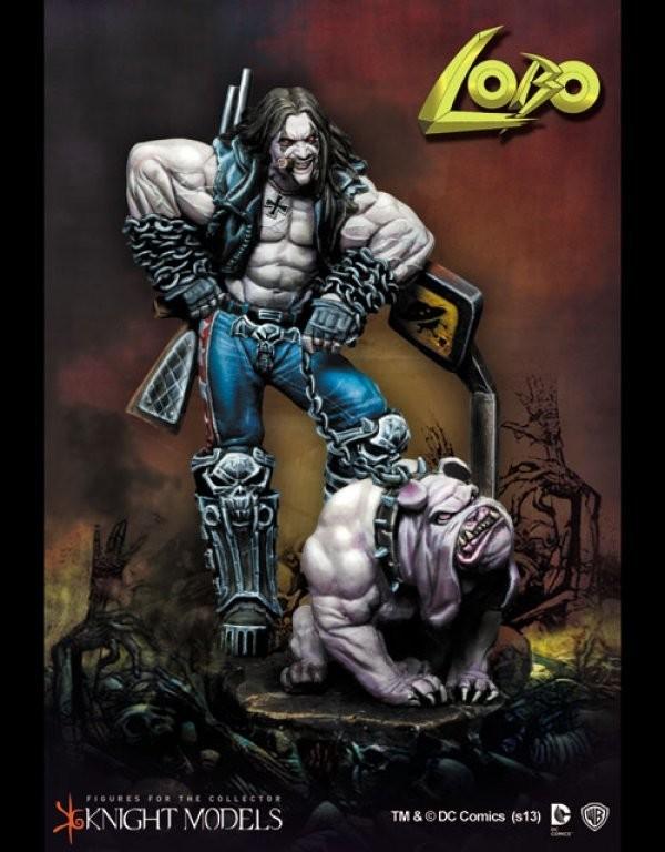 Lobo 70mm DC Comics - Batman Miniature Game