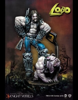 Lobo 70mm DC Comics - Batman Miniature Game