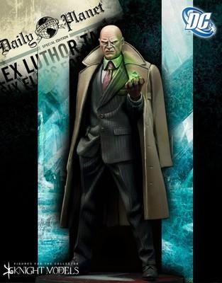 Lex Luthor 70mm DC Comics - Batman Miniature Game