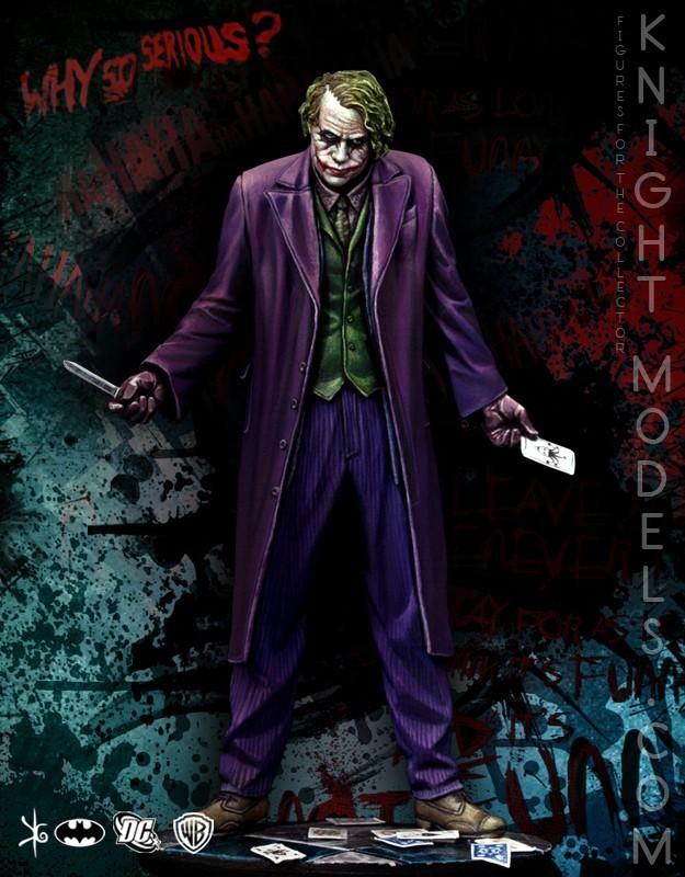 Joker (Dark Knight) 70mm DC Comics - Batman Miniature Game