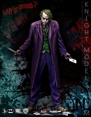 Joker (Dark Knight) 70mm DC Comics - Batman Miniature Game