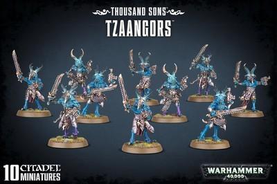 THOUSAND SONS TZAANGORS - Warhammer 40.000 - Games Workshop