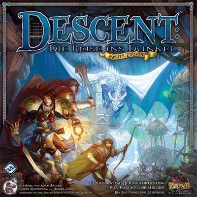 Descent 2. Edition: Die Reise ins Dunkel - Grundbox