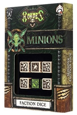 Hordes Minions Dice (6) - Hordes - Privateer Press