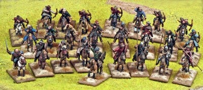 Steppe Tribes Warband Starter (4 points) - SAGA - Steppen Stamm