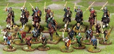 Carolingian Franks Warband Starter (4 points) - SAGA - Karolinger Franken