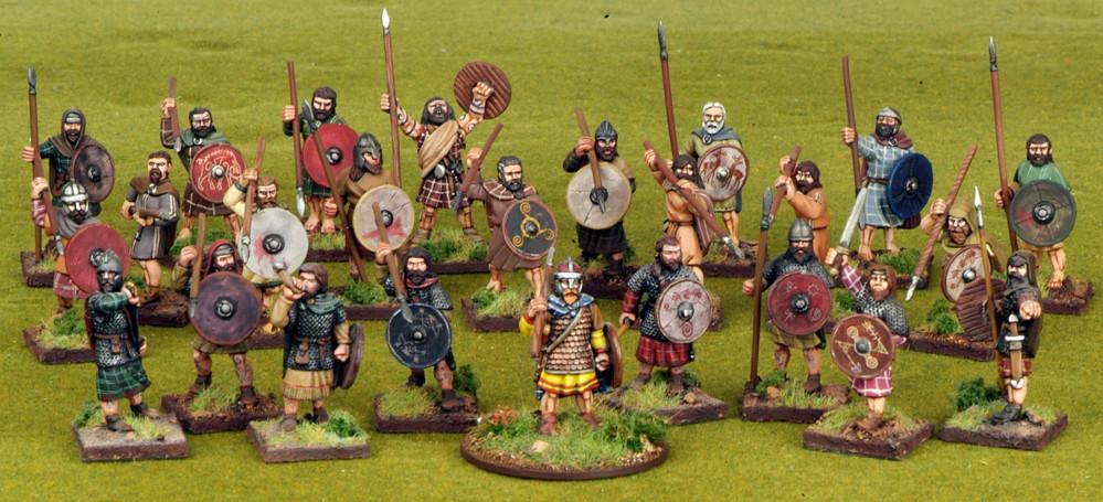Scots Warband Starter (4 points) - SAGA - Schotten