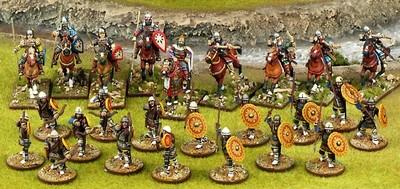 Byzantines Warband Starter (4 points) - SAGA - Byzantiner