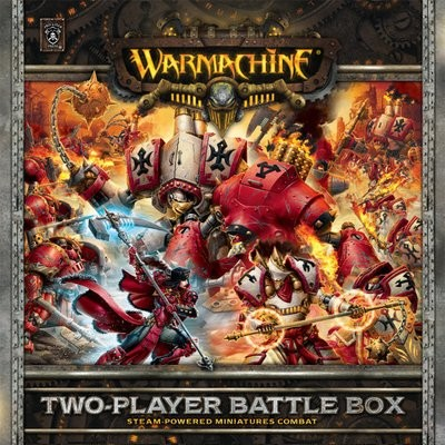 Warmachine Zweispieler Battle Box (plastic) - Starter - Warmachine - Privateer Press