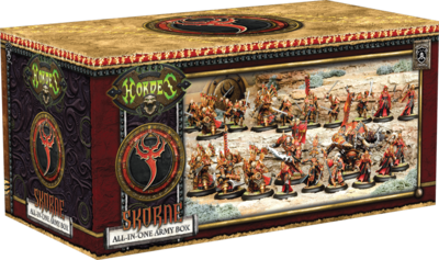Skorne All in One Army Box - Hordes - Privateer Press