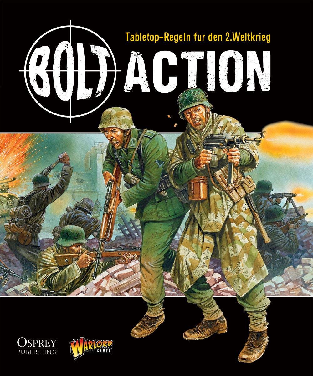 Bolt Action Regelbuch - deutsch