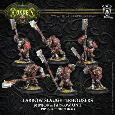 Minion Farrow Slaughterhousers Unit Box - Hordes - Privateer Press
