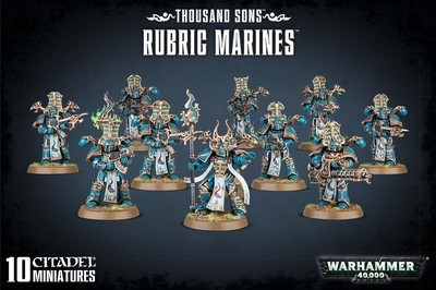 THOUSAND SONS RUBRIC MARINES - Warhammer 40.000 - Games Workshop