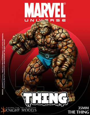 The Thing - Marvel Knights Miniature