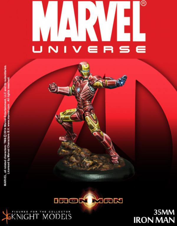 Iron Man - Marvel Knights Miniature