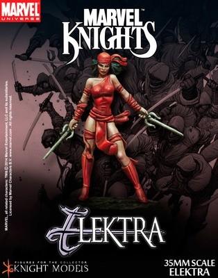 Elektra - Marvel Knights Miniature