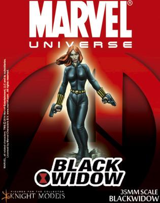 Black Widow - Marvel Knights Miniature