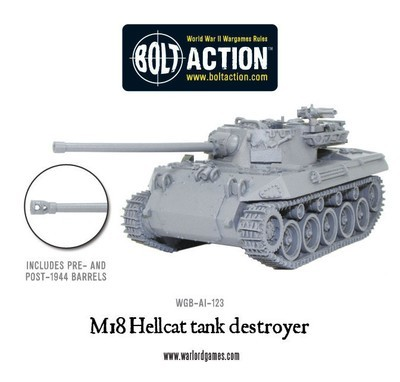 M18 Hellcat - American - Bolt Action