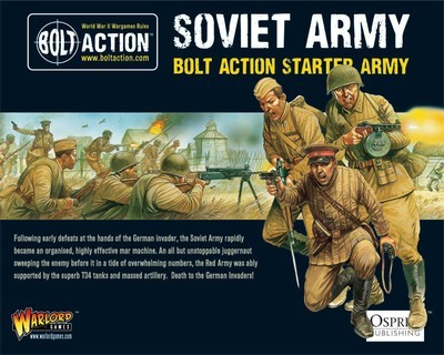 Soviet Army (1000Pts) - Bolt Action Starter Army - Soviet - Warlord Games