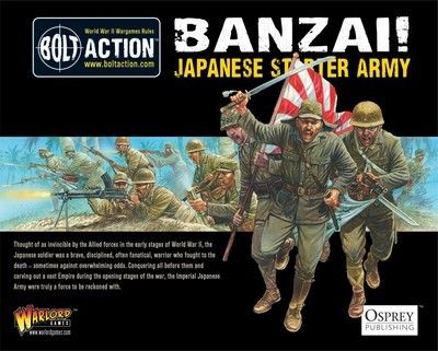 Banzai! - Japanese Starter Army (1000Pts) - Imperial Japan - Bolt Action