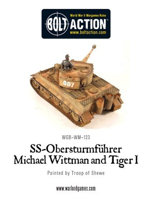 Wittmann's Tiger - German - Bolt Action - Warlord Games