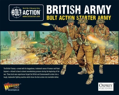 British Army - Bolt Action Starter Army (1000Pts) - British -Bolt Action