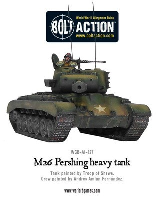 M26 Pershing - American - Bolt Action