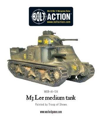 M3 Lee Tank - American - Bolt Action