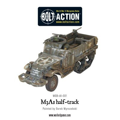M3A1 Halftrack - American - Bolt Action