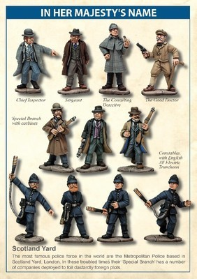 Scotland Yard Company - In Her Majesty's Name - North Star Figures