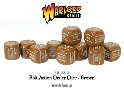 Befehlswürfel - Order Dice - Braun - Bolt Action