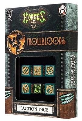 Hordes Trollbloods Dice (6) - Hordes - Privateer Press
