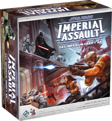 Star Wars: Imperial Assault - Das Imperium greift an GRUNDSPIEL DEUTSCH