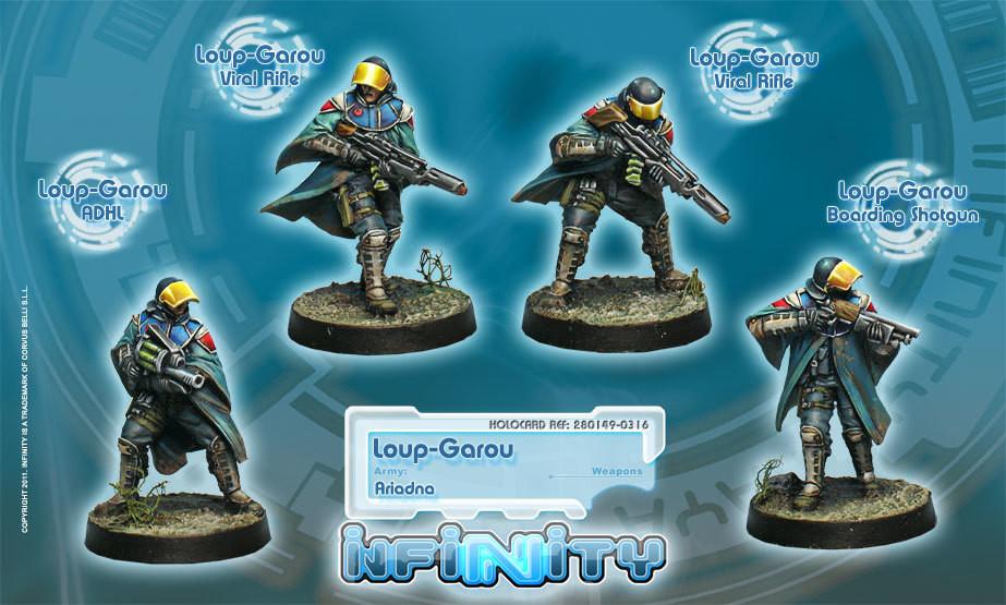 Loup-Garou (4 Männer) - Ariadna - Infinity