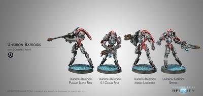 Unidron Batroids - Combined Army - Infinity