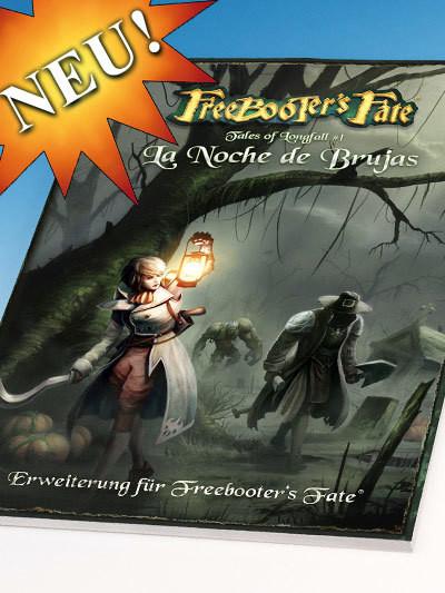 Tales of Longfall 1 - La Noche de Brujas Erweiterungsbuch - Freebooter's Fate - deutsch