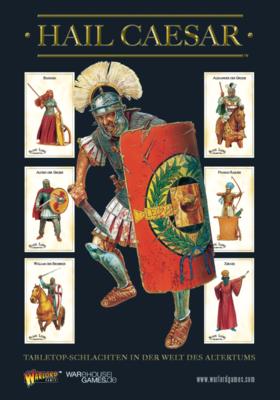 Hail Caesar Rulebook (Deutsch) Regelbuch - Hail Caesar - Warlord Games
