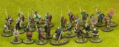 Anglo-Danish Warband Starter (4 points) - SAGA - Anglodänen