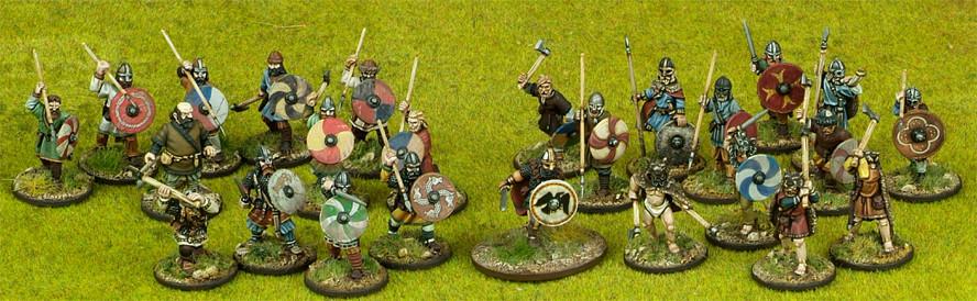 Viking Warband Starter (4 points) - SAGA - Wikinger