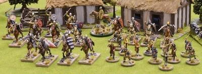 Breton Warband Starter Bretons (4 points) - SAGA - Bretonen