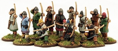 Norman Archers (12) - Levy 1 pt - SAGA - Normannen