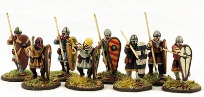 Norman Spearmen (8) - Warriors 1 pt - SAGA - Normannen