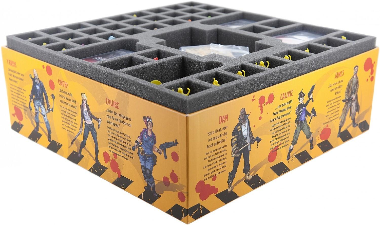 Schaumstoffeinlage Set für Zombicide Staffel 3 Rue Morgue - Feldherr