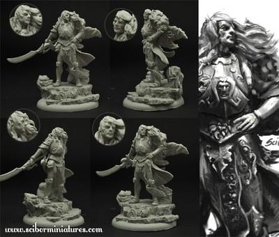 Elf Lord - Scibor Miniatures