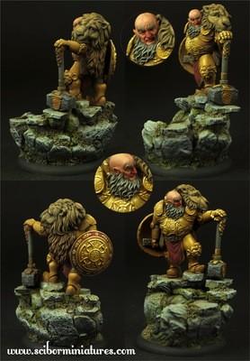 Dwarf Lord - Scibor Miniatures